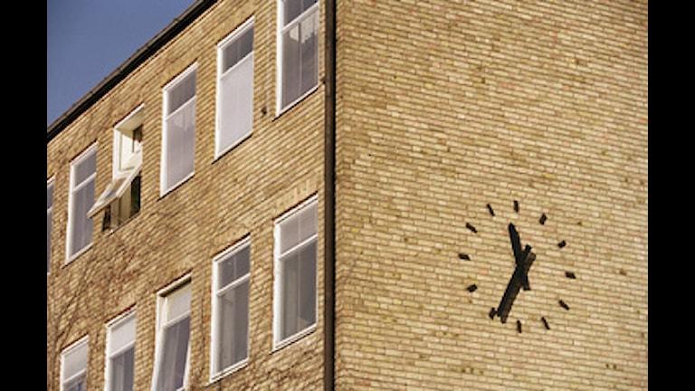 Arkivbild: En skolfasad i stockholm.