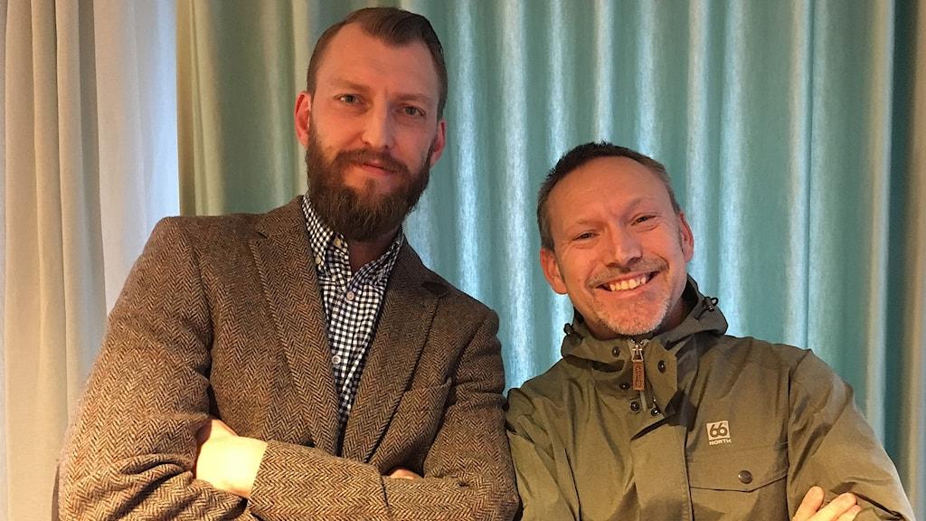 Ivar Arpi och Erik Helmersson.