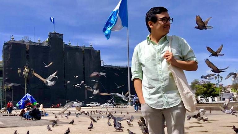 Aktivisten Andres Quezada har en dyster bild av läget i landet.
