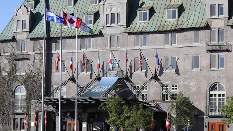 CANADA-G7-SUMMIT-VENUE