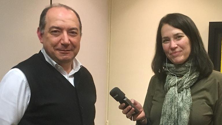Vicent Sachis, chef för katalanskspråkiga TV3 känner att verksamheten är hotad efter det spanska maktövertagandet i Katalonien.