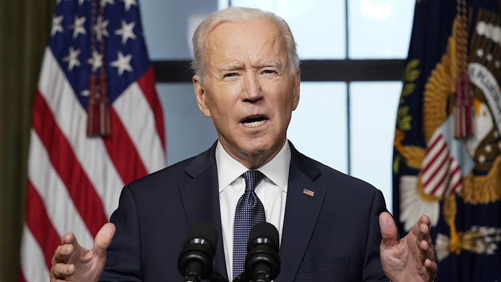 USA:s president Joe Biden.