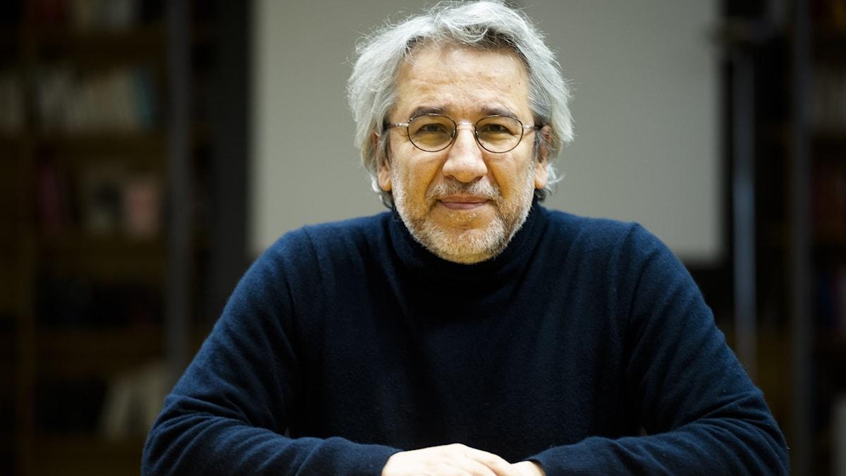 Porträtt av den turkiske journalisten Can Dündar.