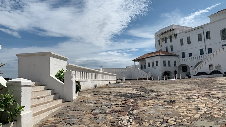 Cape Coast Castle .