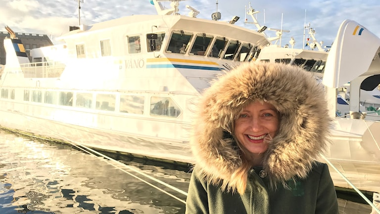 Lisa Emelia Svensson, FN:s havsambassadör.