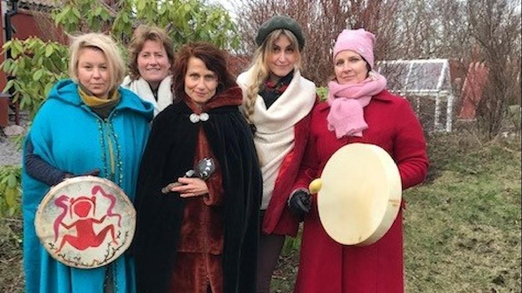Rebecca Tiger, Agneta Nyholm, Hella Nathorst-Böös, Anna Vild och Kristina Turner.