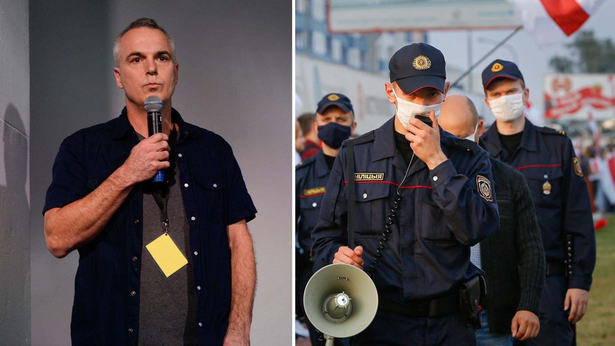 Dagens Nyheters fotograf Paul Hansen