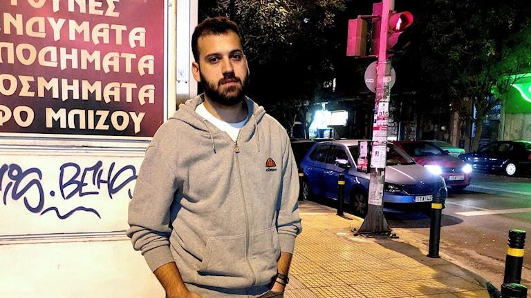 23-åriga Apostolis Kolonis i Pangrati i Aten.