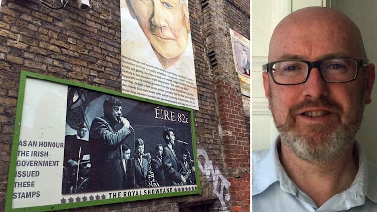 Michael McLoughlin chef för irländska delen av bokförlaget Penguin Random House.