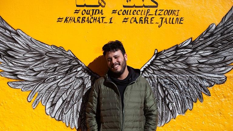 Vi är som instängda i vår egen stad, säger Idriss El Fathi, som bor på gränsen mellan Marocko och Algeriet.