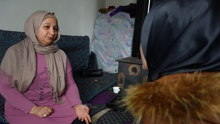Aktivisten Rawda Abdel Kafi Mazloum träffar en 13-årig flicka som just blivit förlovad