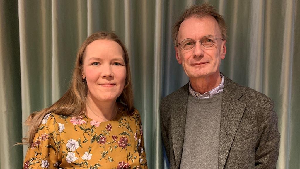 Emma Henriksson och Ingemar Engström.