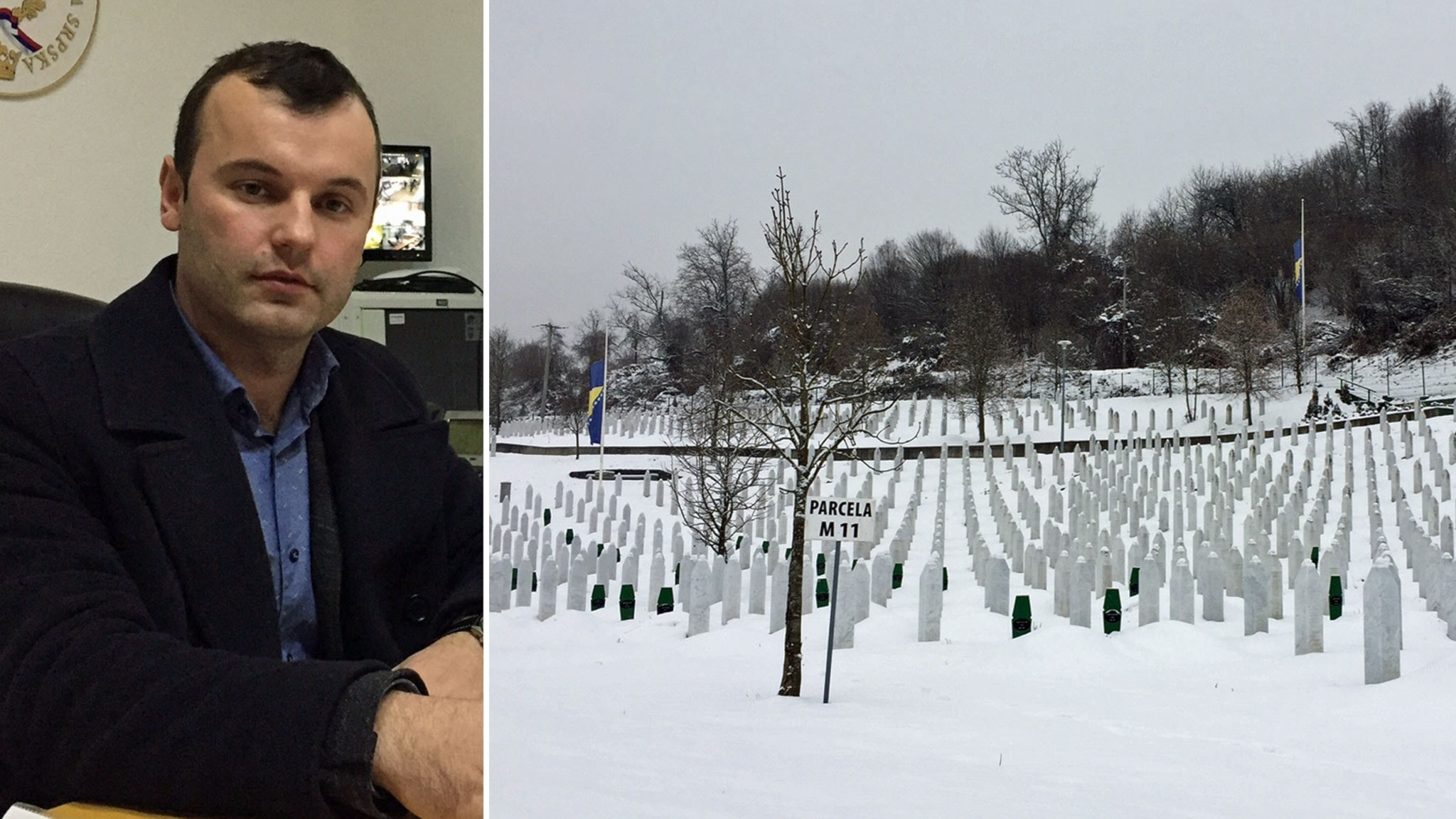 Srebrenicas offer begravs