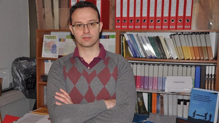 Predrag Petrovic på Belgrede Centre for Security Policy.