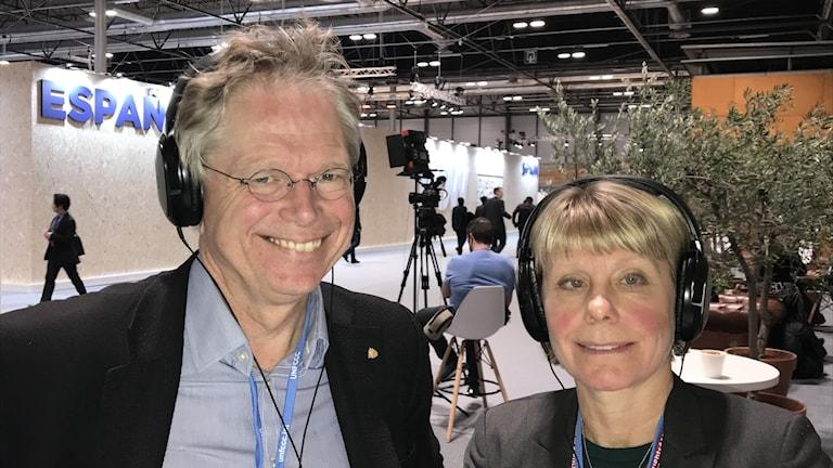 Björn-Ola Linnér och Karin Lexén.
