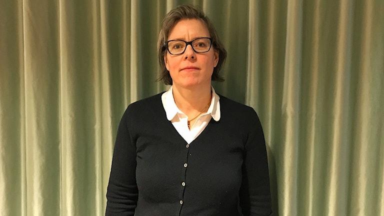 Lena Andersson, författare och journalist.