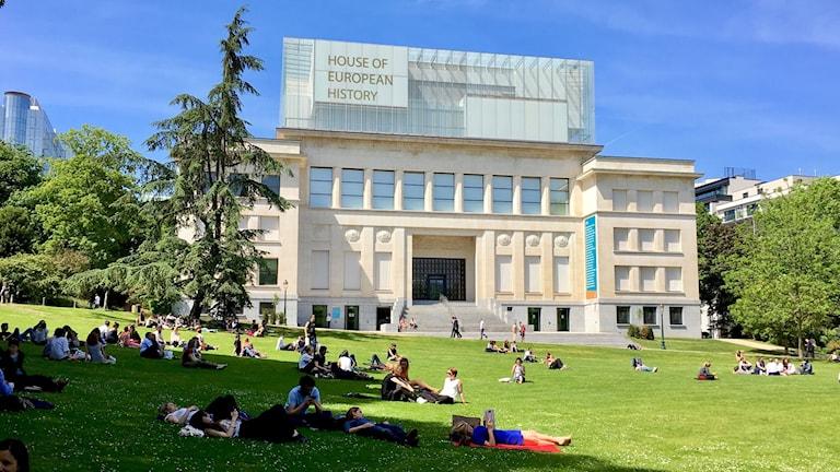 Det nya museet ligger i EU-kvarteren i Bryssel.