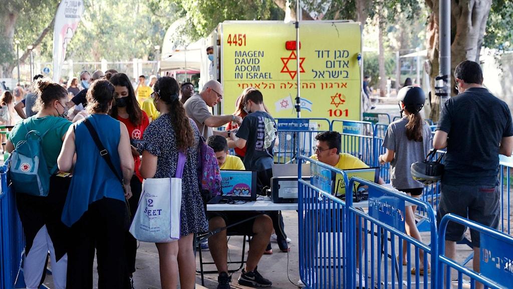 Vaccinationer i Israel