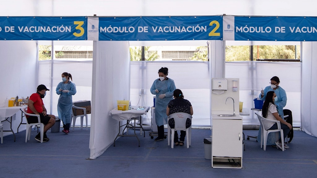 CHILE-HEALTH-VIRUS-VACCINATION