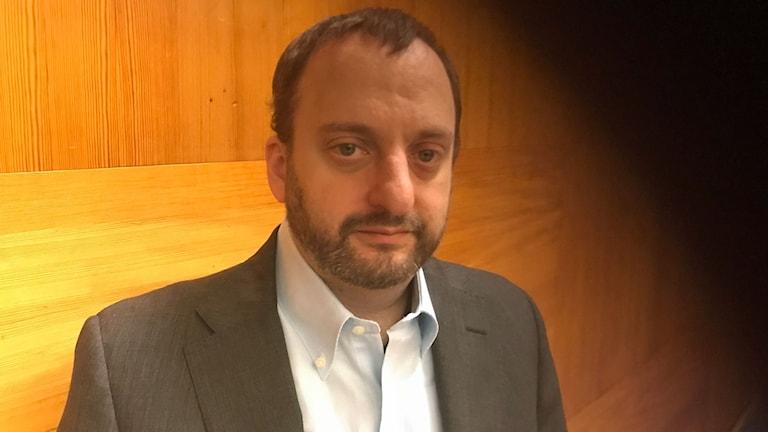 Scott Goodstein, expert på digitala valrörelser och hjärnan bakom Bernie Sanders gräsrotskampanj i USA är på besök i Stockholm.