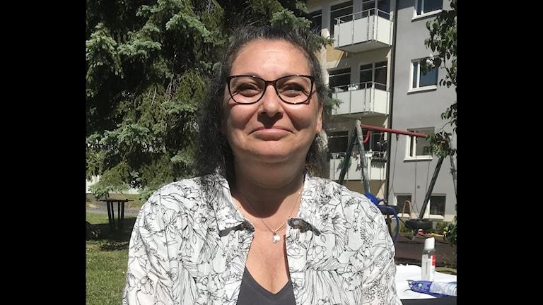 Lisa Meyler, som har undervisat sin dotter hemma.