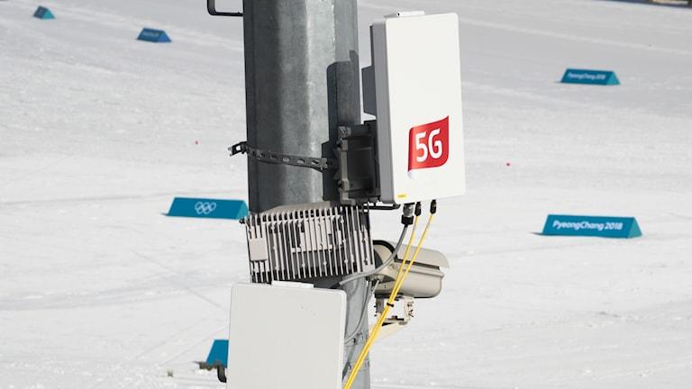 5G-SÄNDARE OS-BYN SYDKOREA