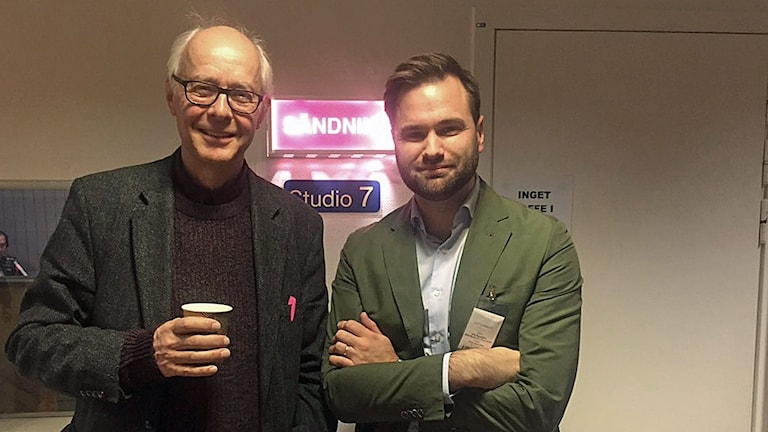 Bengt Hansell, tidigare skolreporter på Ekot och Erik Bengtzboe, Moderat ledamot i utbildningsutskottet.