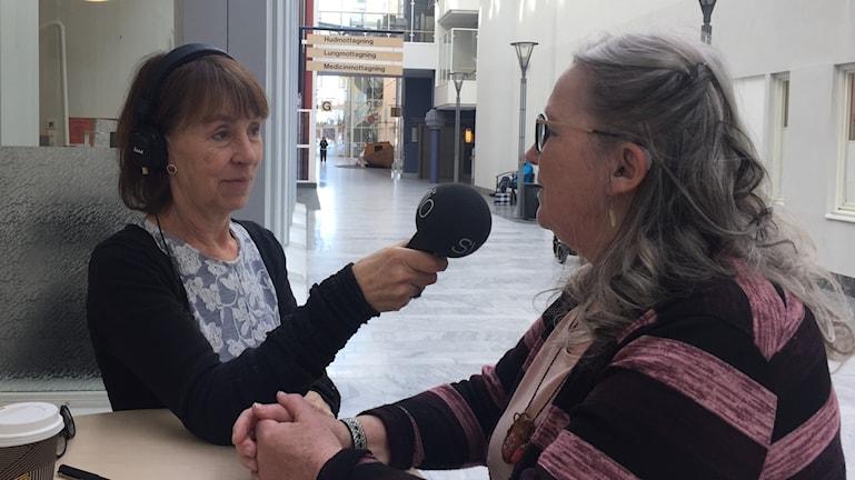 Li Hellström intervjuar Monika Thelin grundare av Lapplandsupproret.