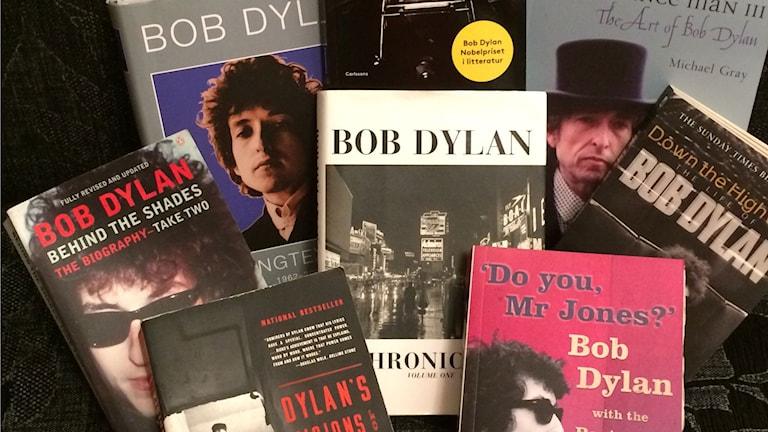 Böcker om och med Bobb Dylan