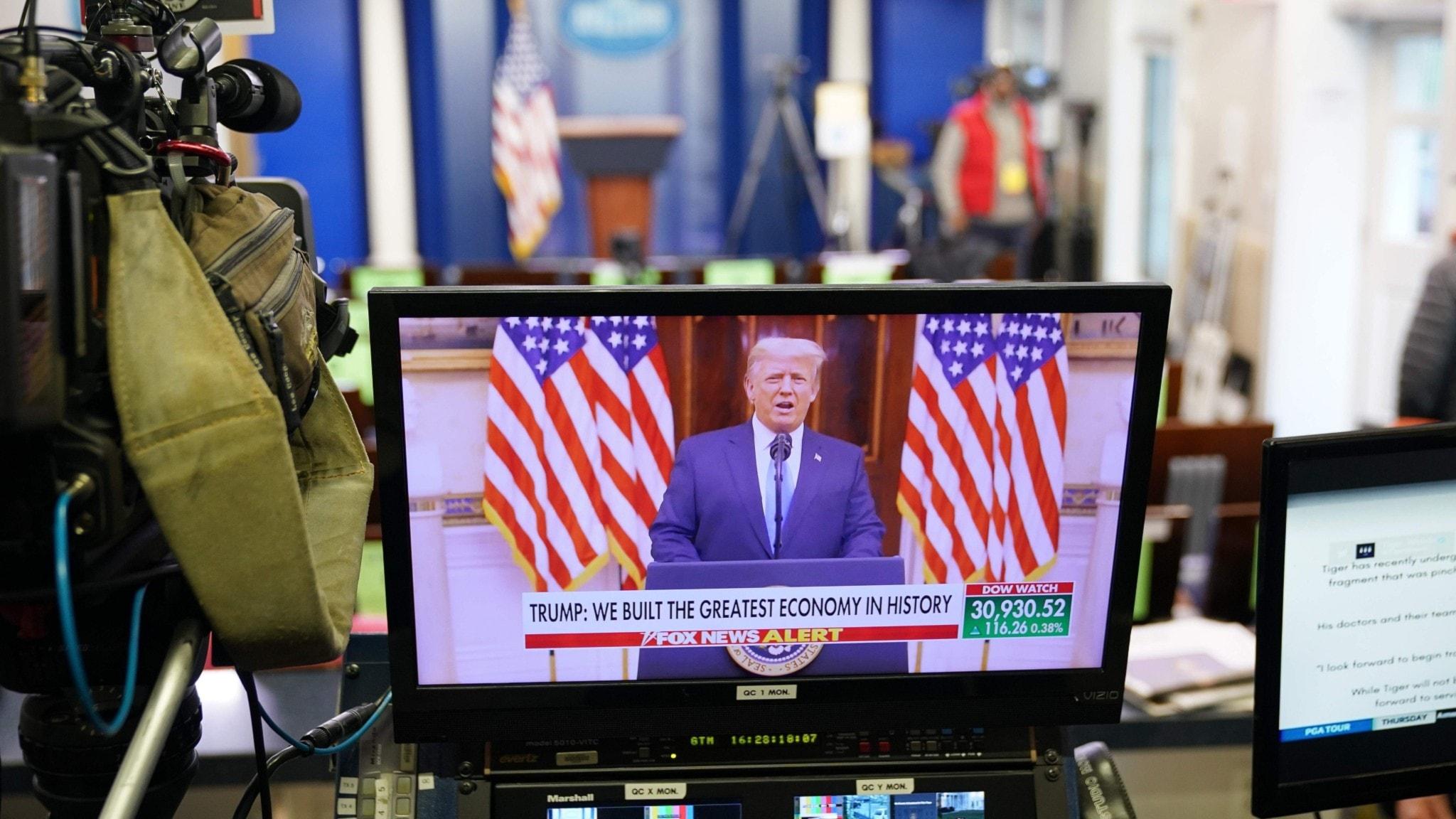 Donald Trumps avskedstal