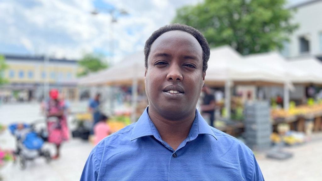 Ahmed Abdirahman är grundare till stiftelsen The global village som bland annat anordnar politikerveckan i Järva.