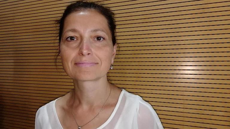 Jana Klimova undersökande reporter på tjeckiska public service radion .