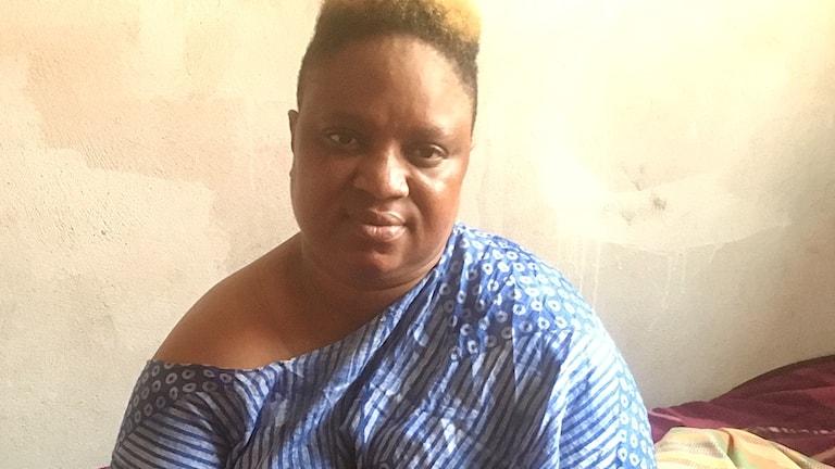 Aissatou Barry är engagerad i migranters rättigheter i Marocko och upprörd över de övergrepp som begås av staten.