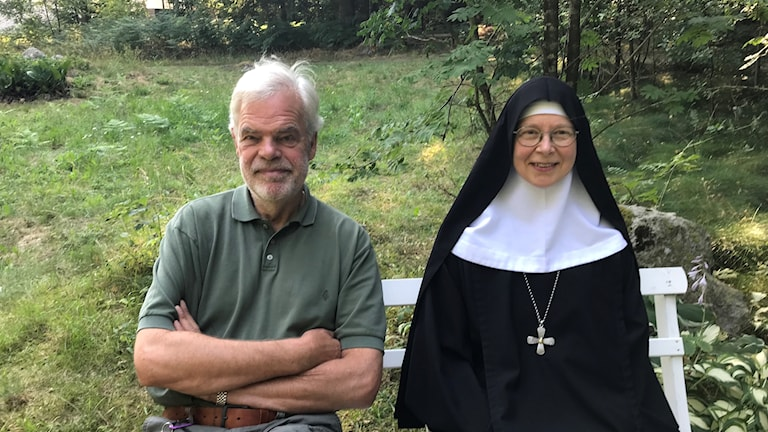 Carl Piper och Moder Christa.