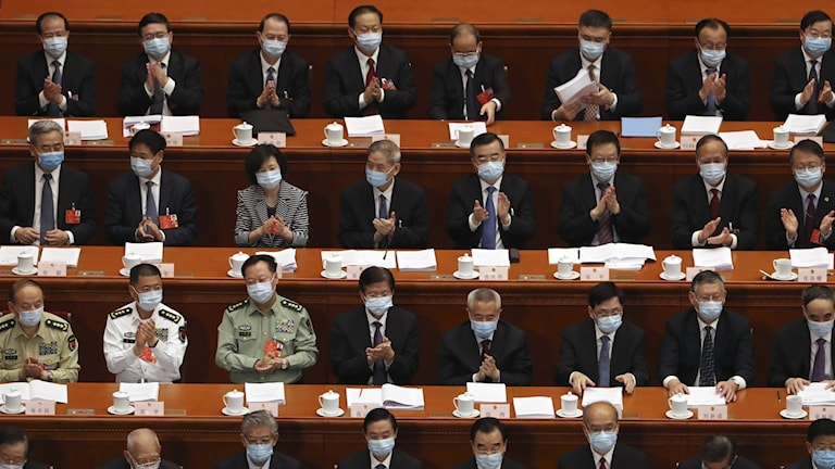 nationella folkkongressen kina