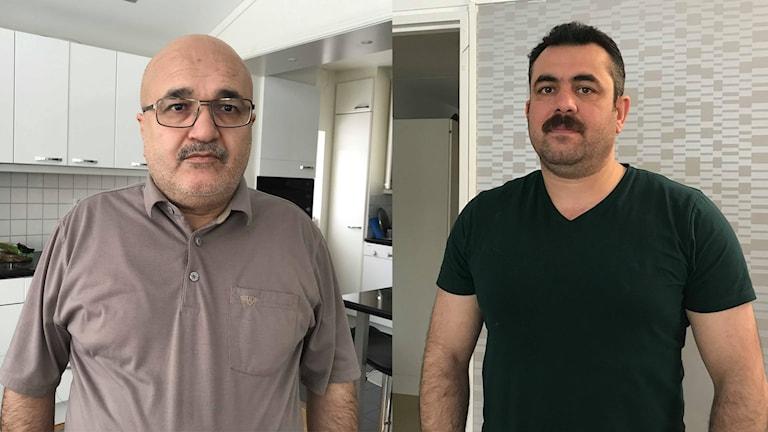 Khalid Elias och Benahe Sino är yazider som bor i Borlänge.