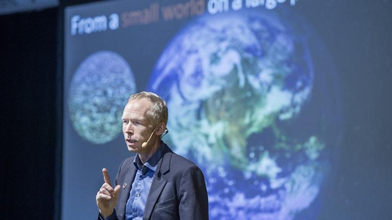 Johan Rockström är en av Sveriges mest kända klimatforskare.