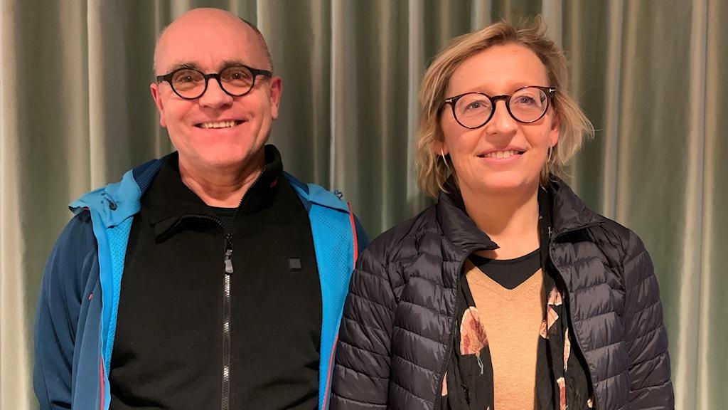John Hassler och Karin Bäckstrand.