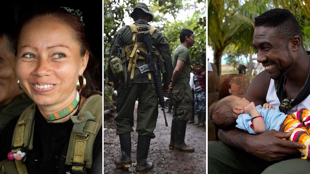 President Juan Manuel Santos och FARC ledaren Rodrigo Londono , alias Timochenko , förväntas underteckna ett fredsavtal för att avsluta mer än fem decennier av konflikt 26 september i Västindien staden Cartagena .