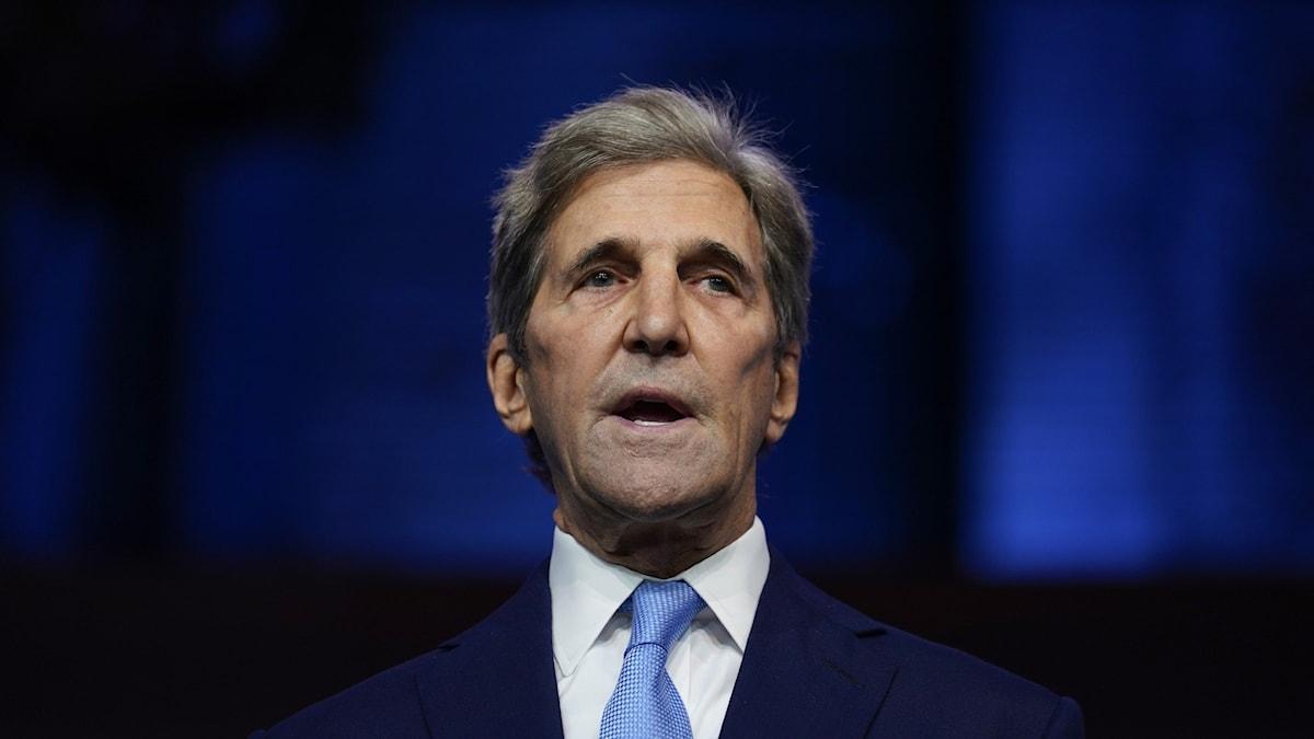 USA:s nya klimatsändebud John Kerry.