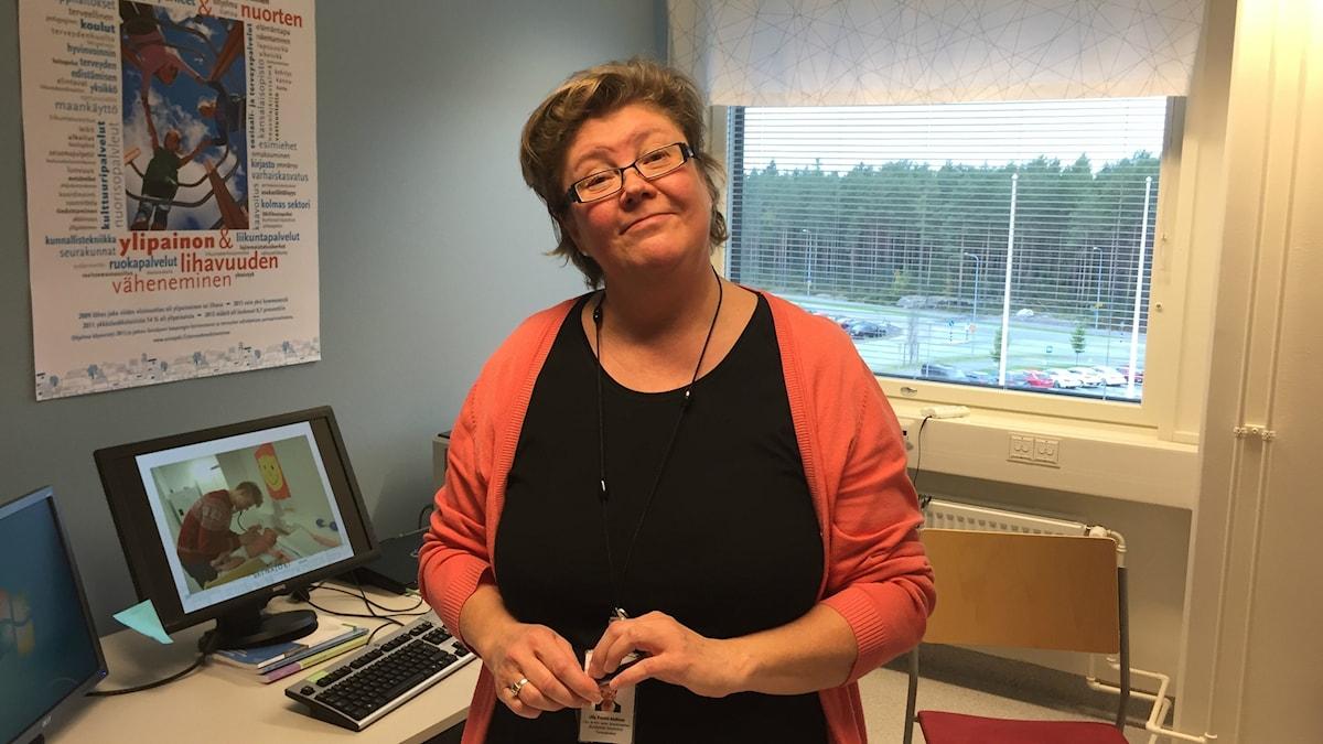 Vi är stolta att vi lyckats, säger Seinäjokis hälsosamordnare Ulla Frantti-Malinen