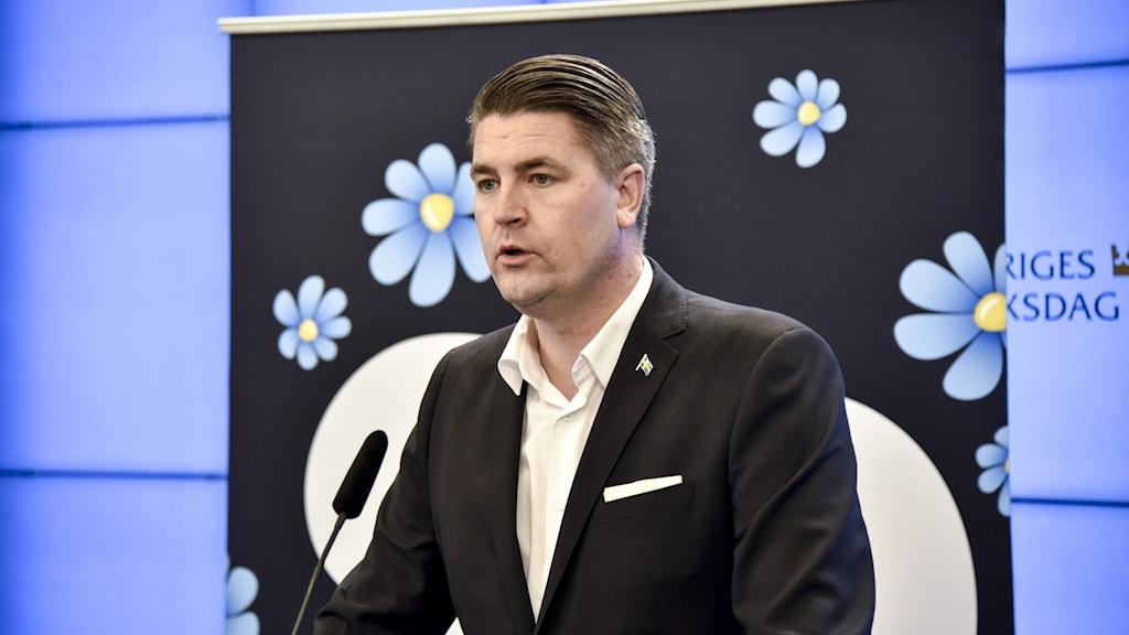 SD:s ekonomisk-politiska talesperson Oscar Sjöstedt