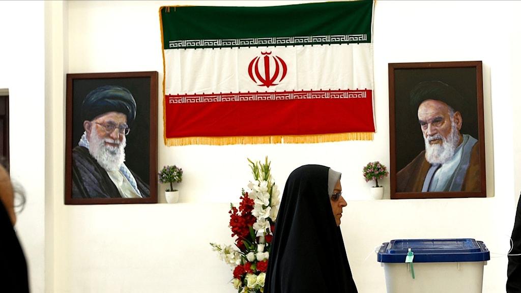 Presidentval i Iran