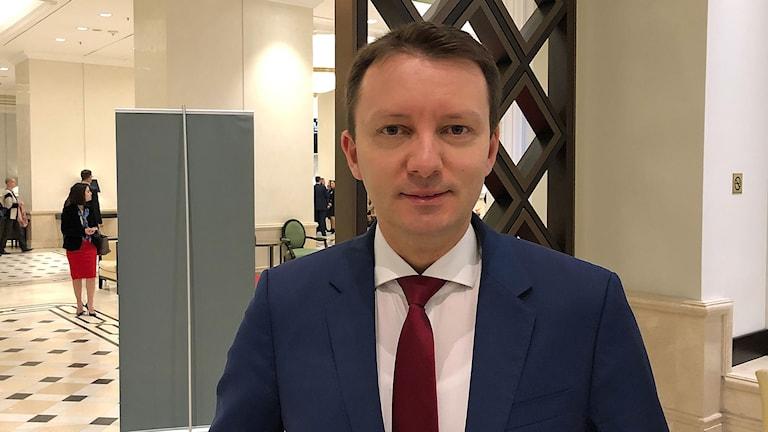 Rumänske kandidaten Sigfried Muresan