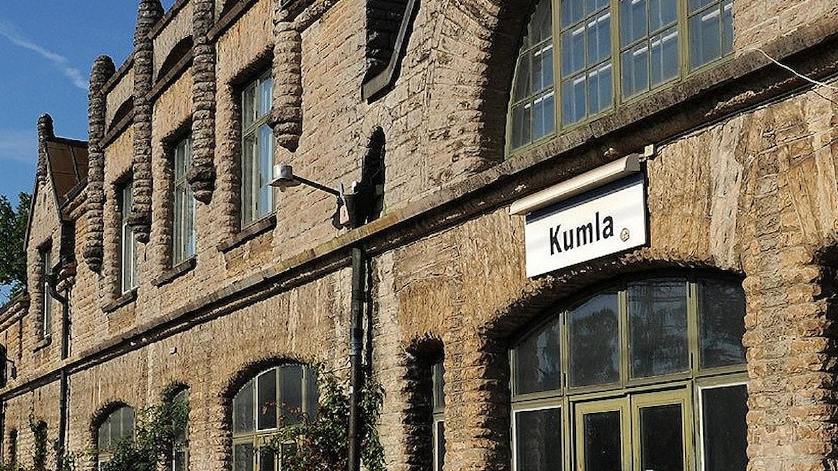 Kumla stationshus.