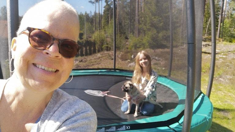Anna-Lena Hell och hennes dotter Emelie som bor i Eskilstuna.