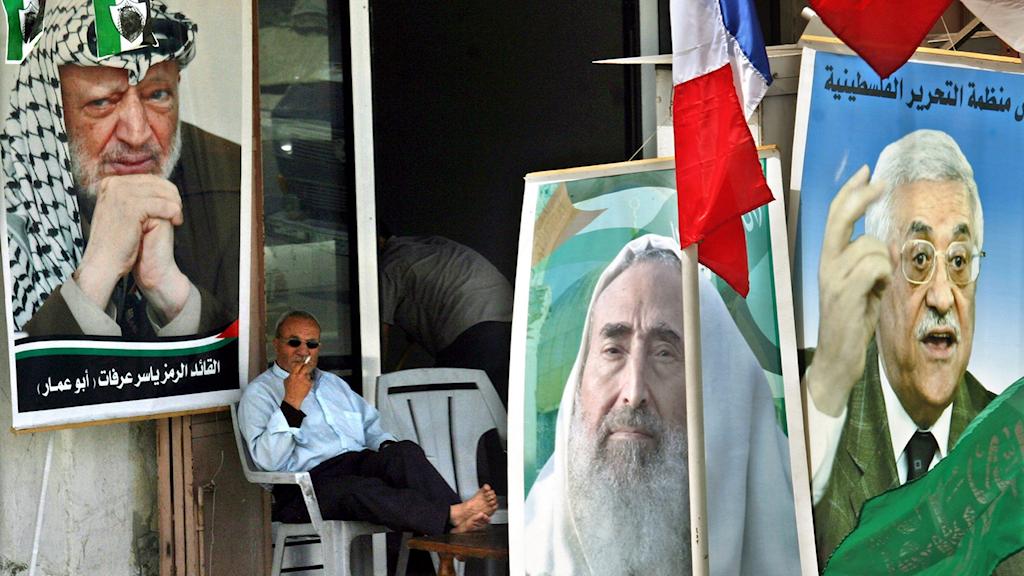 Fredskonferens om Mellanöstern.