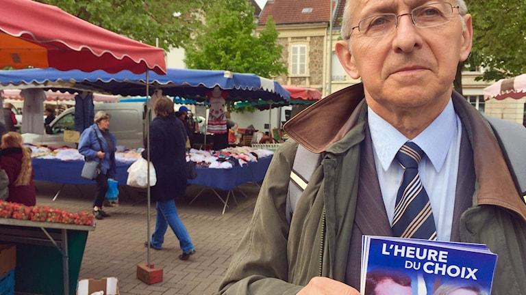 Jean-Claude Philipot, lokalpolitiker för Nationella Fronten i Reims