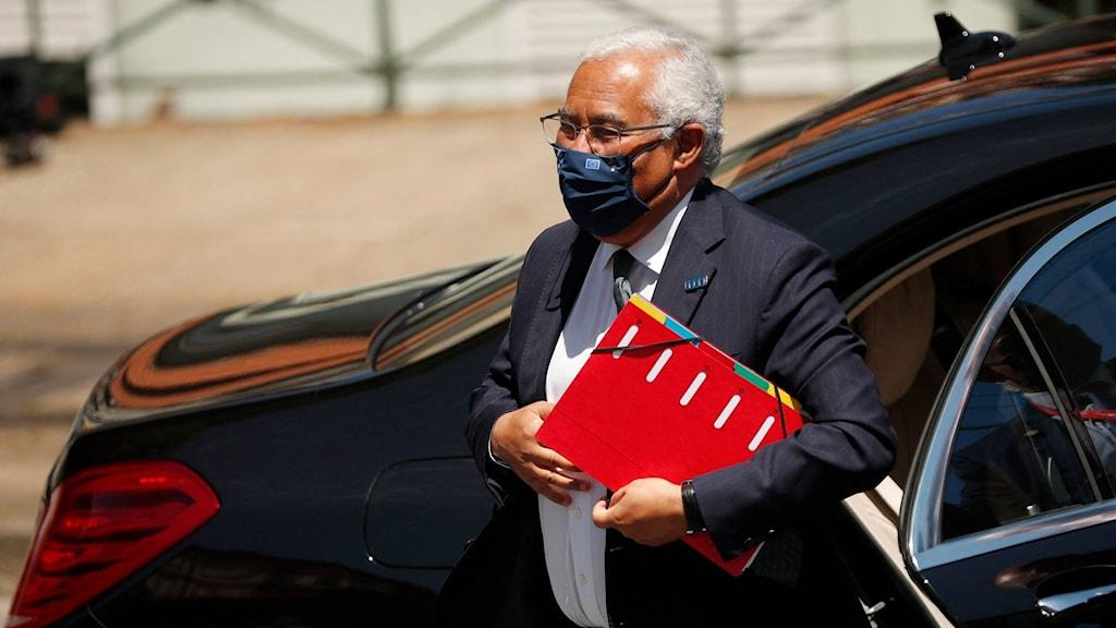 Portugals premiärminister António Costa står värd för det sociala toppmötet på fredag och lördag.