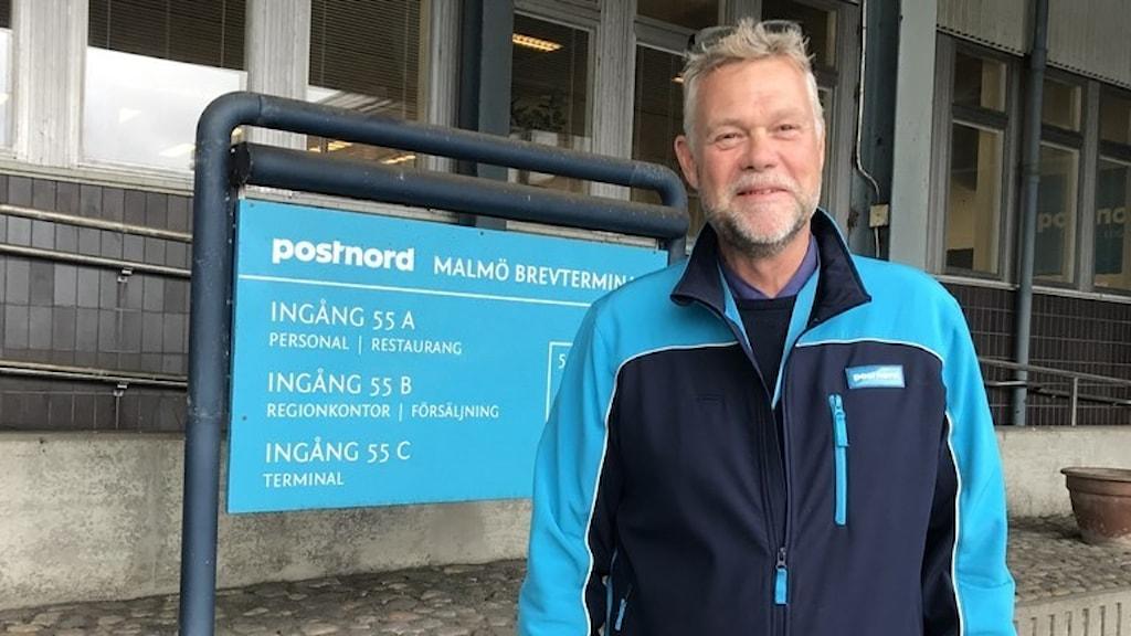 Jörgen Olin, regionchef för Postnord Syd.